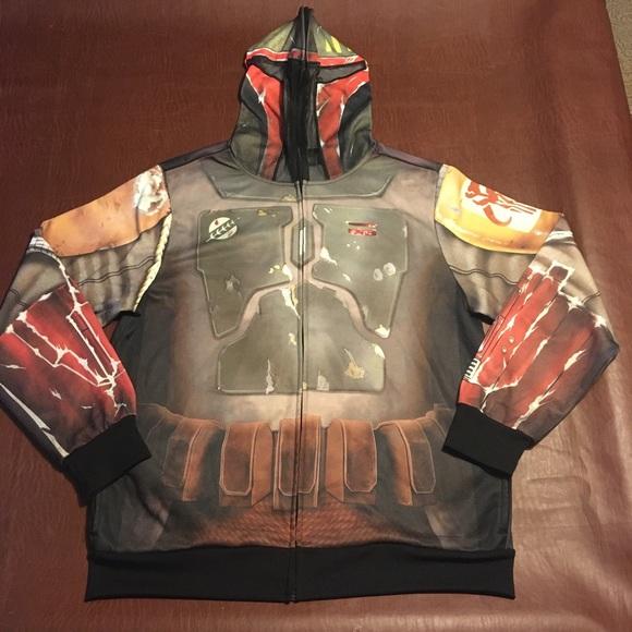 Star Wars Boba Fett Hoodie Sweater XL